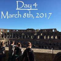 Rome 2017: Our Fourth Day